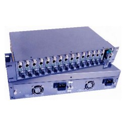 16Slots Media Converter Chassis