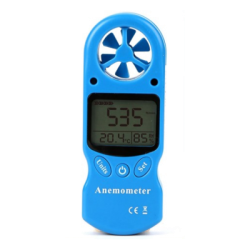 Anemometer with Wind-chill Indication (Beaufort Scale)