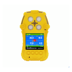 Four Gas Detector with High Accuracy (Dust-Proof, Data Store)