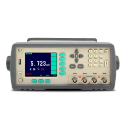Micro ohmmeter with data hold (Remote trigger)