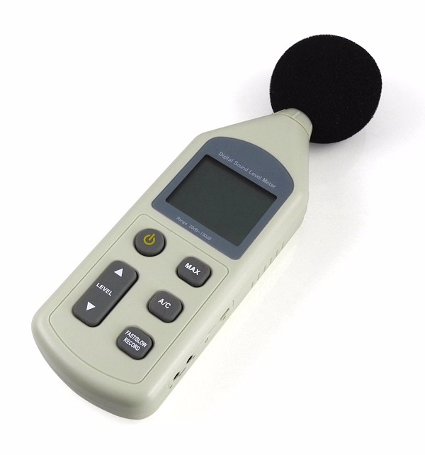 Sound Frequency Meter : Sound level meter with wide frequency range accurate