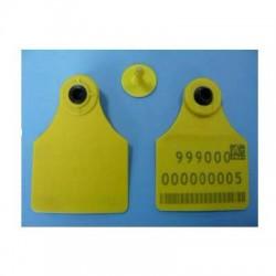 112009-134 kHz Animal Tracking RFID Ear Tag