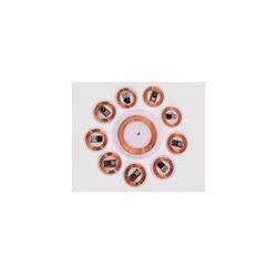 113415-13.56MHz Clear Thin RFID Disc Tag