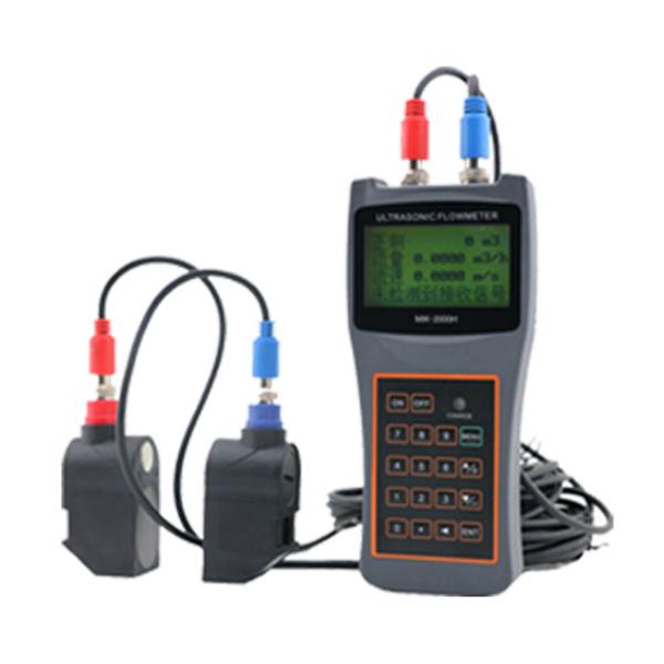 Handheld Ultrasonic Flowmeter (Sensor Probe, Data Logger)