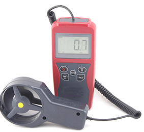 Anemometer with Flow Velocity Measuring (High Accuracy)