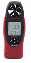 Anemometer with Vane-Temperature-Humidity (Data Hold)