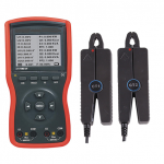 Double Clamp Digital Phase Volt-Ampere Meter