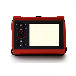 Flaw Detector with Wide Range (Real-Time Data Backup)