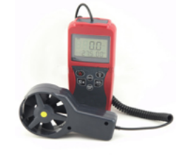 GAOTek Digital Anemometer with Measure Flow Speed (Chill Temperature)