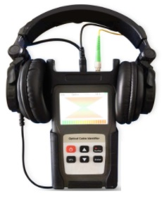GAOTek Optical Fiber Identifier with Large Range (Long Battery)