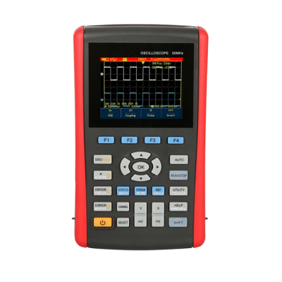 Digital Oscilloscope with Storage (2 CH Wide Voltage Range)