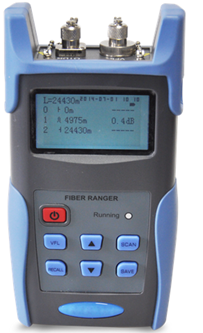 GAOTek Optical Fiber Ranger with VFL (Up to 8 Faults)
