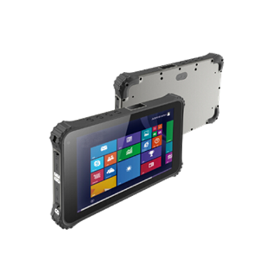 Industrial Tablet Pc With Bar Code Scanner Glass Panel