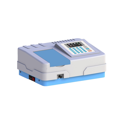 Scanning UV and Vis Spectrophotometer with Multiple Bandwidths