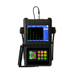 Ultrasonic Flaw Detector with Wave Crest Memory