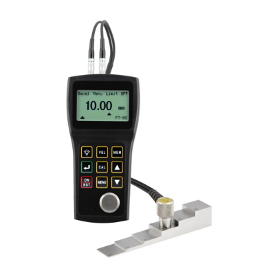 Ultrasonic Thickness Gauge with Crystal Probe (Couplant)