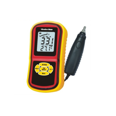 Vibration Meter with Velocity Frequency Mode (Data Hold)