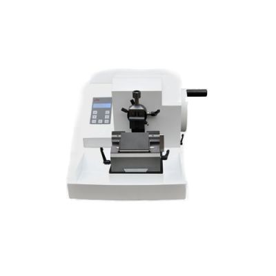 button panel Semi-Automatic Microtome (high feed speed)
