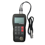 Ultrasonic Thickness Gauge with High Accuracy (2 point Calibration)